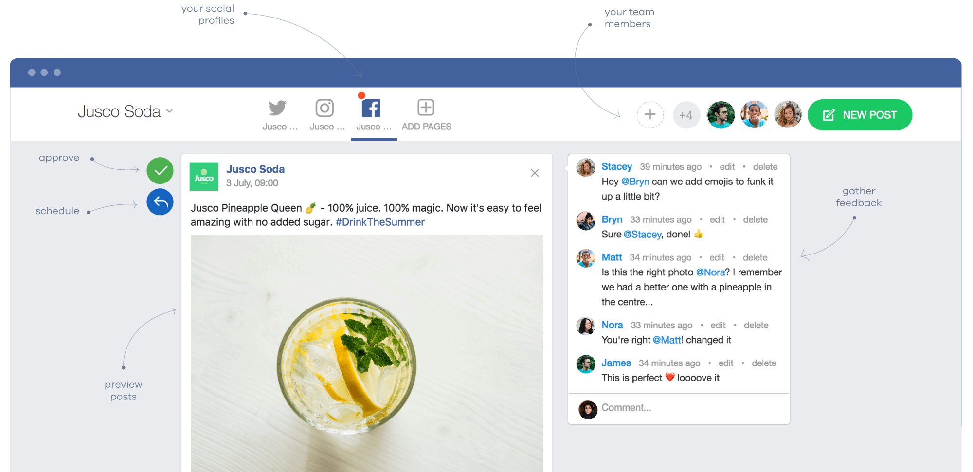 Planable - Social Media Collaboration Platform for Agencies, Freelancers and Marketing Teams