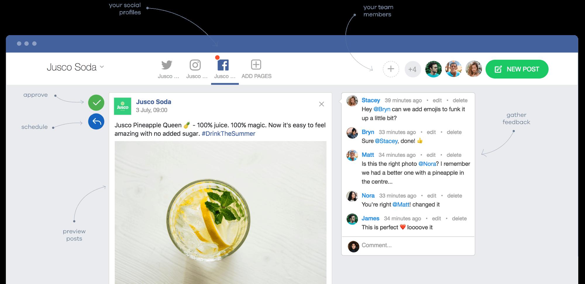 Planable - Social Media Collaboration Platform for Agencies, Freelancers and Marketing Teams