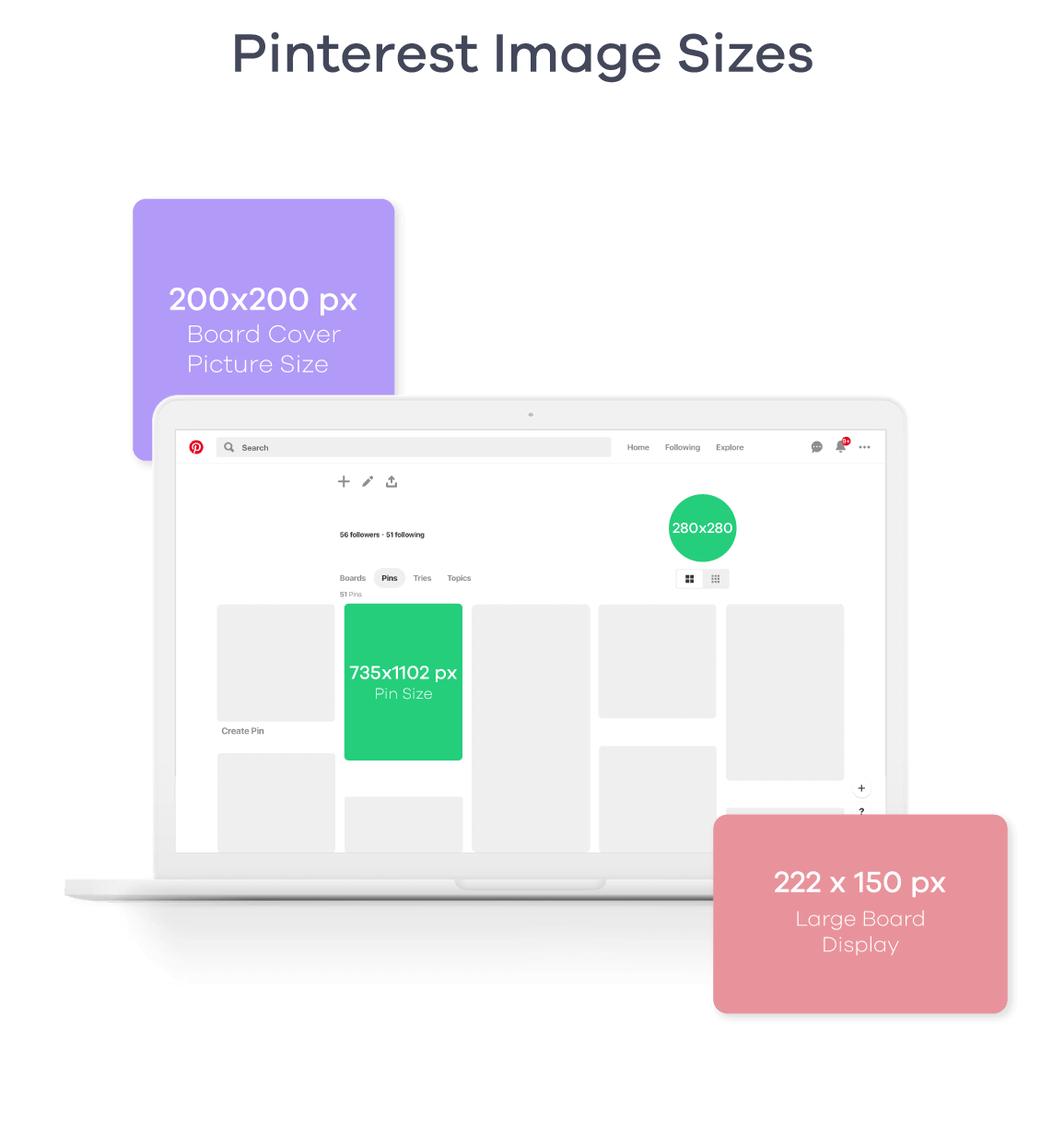 Pinterest Image Sizes 2019
