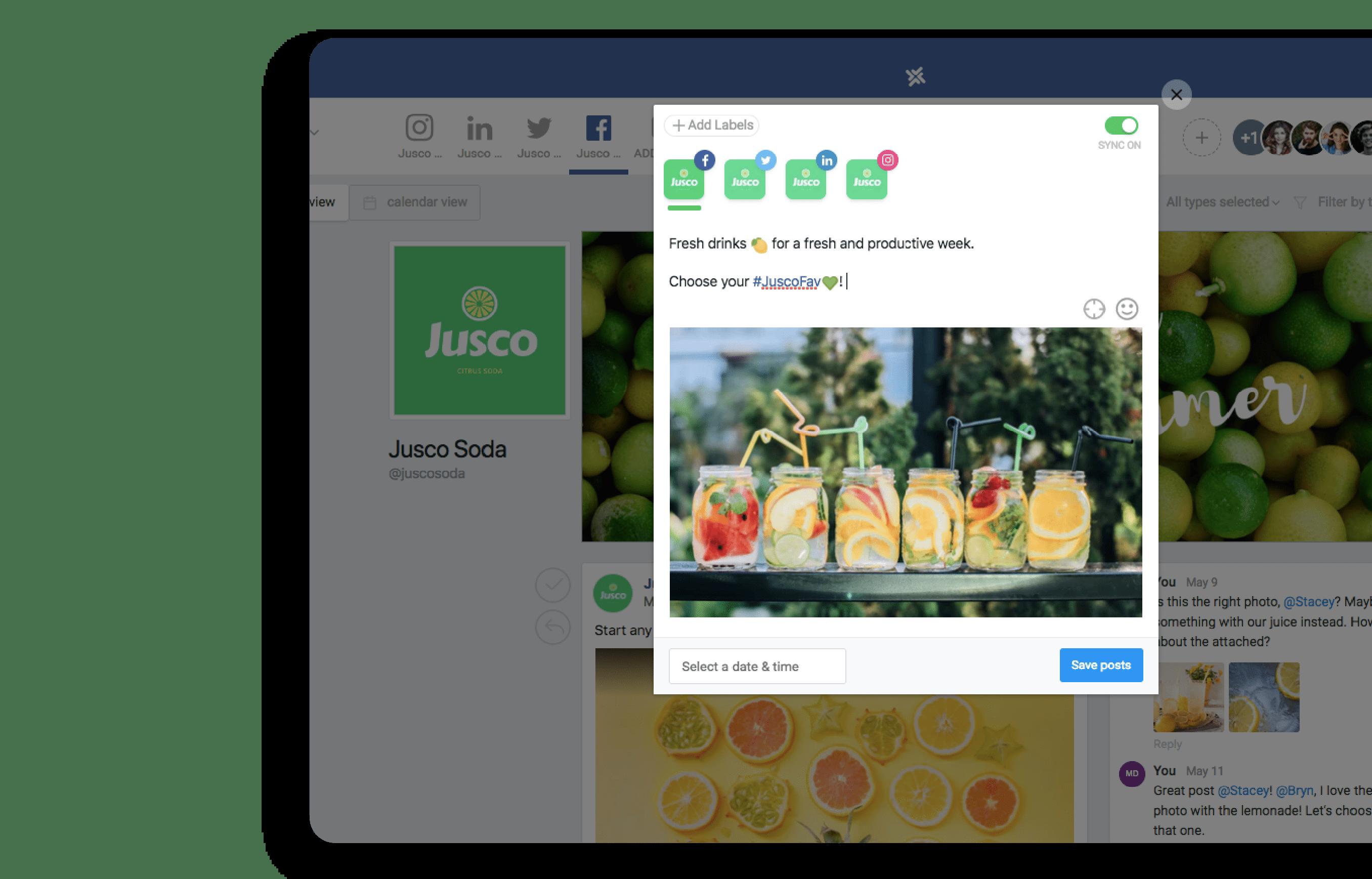buffer alternative social media publishing automation platform tool planable