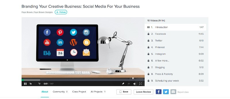 Skillshare Branding Your Creative Business