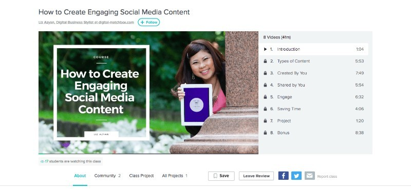 Skillshare How To Create Engaging Social Media Content