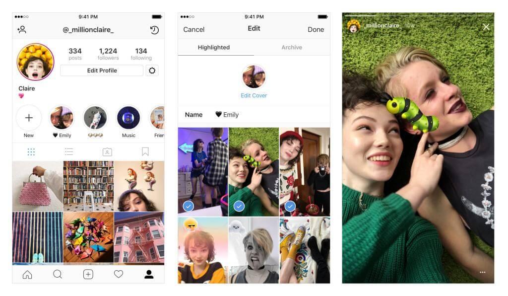 social media ecommerce instagram stories
