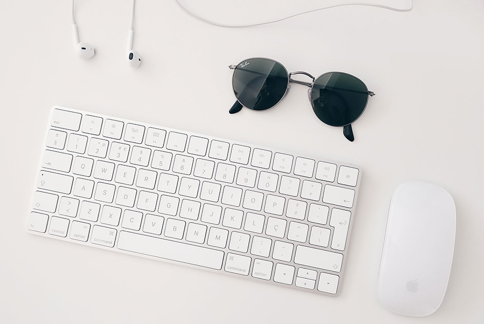 brand manager how to become a brand specialist keyboard sunglasses headphones mouse white table