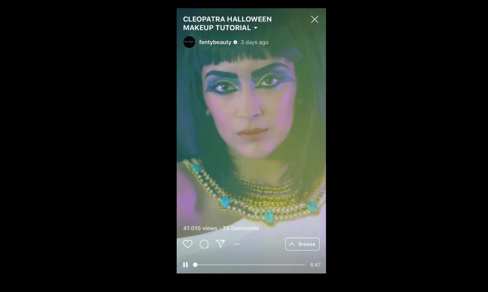 Fenty Beauty Cleopatra Halloween Makeup Tutorial