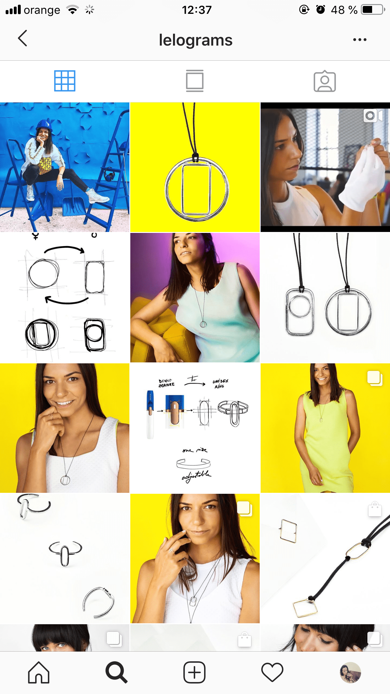 instagram grid view example lelograms - how to get 10000 followers for instagram