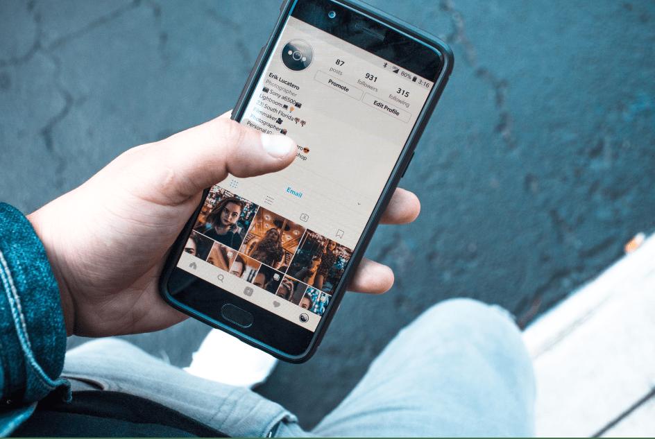man holding phone instagram hidden features
