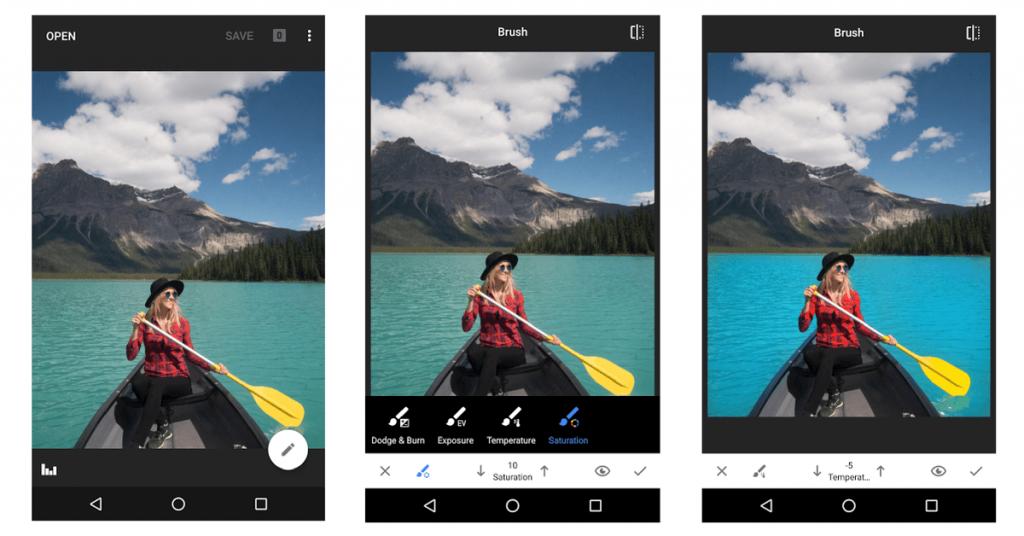 instagram marketing tool snapseed photo editing tool image correction