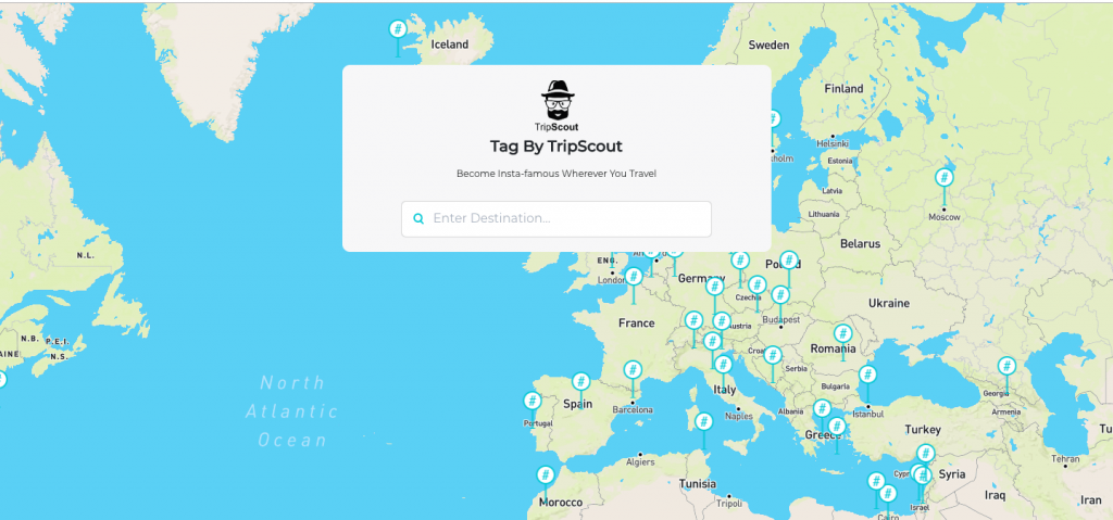 instagram marketing tool tag by tripscout become insta famous wherever you want to travel find best hashtags when traveling