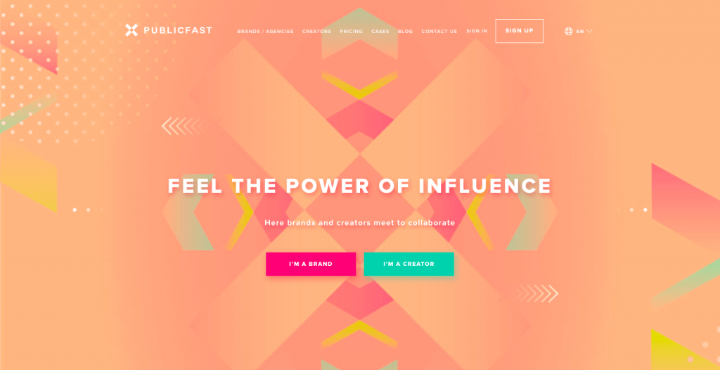 instagram marketing tool publicfast influencer marketing platform brand creators