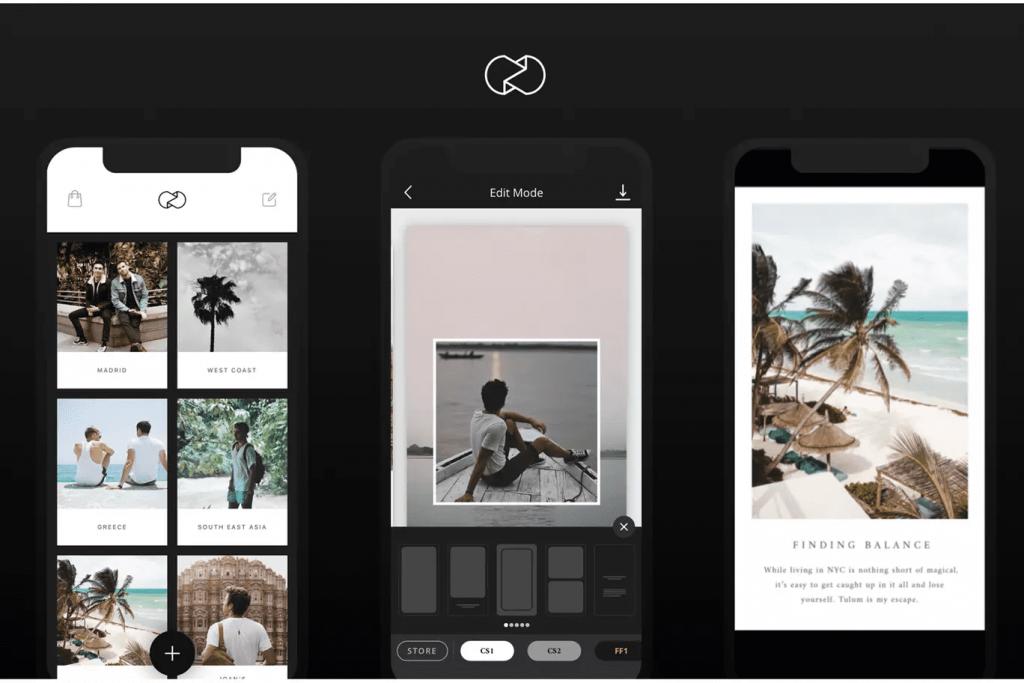 instagram marketing tool unfold edit create instagram stories templates