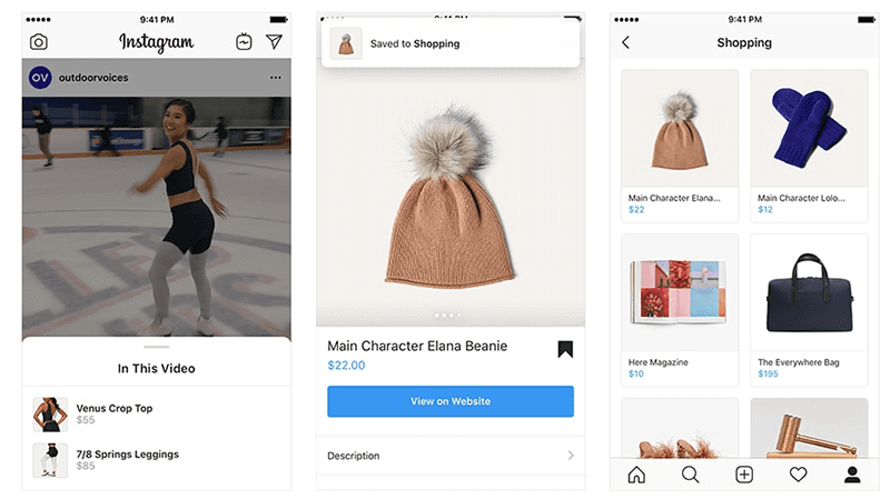 november social media industry news Instagram Rolls Out 3 New Features to Make Shopping Even Easier