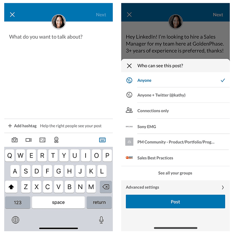 november social media industry news LinkedIn Is Rolling Out A New Share Box feature