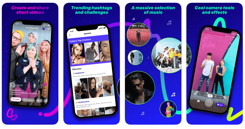 november social media industry news Facebook launches Lasso, its music and video TikTok clone