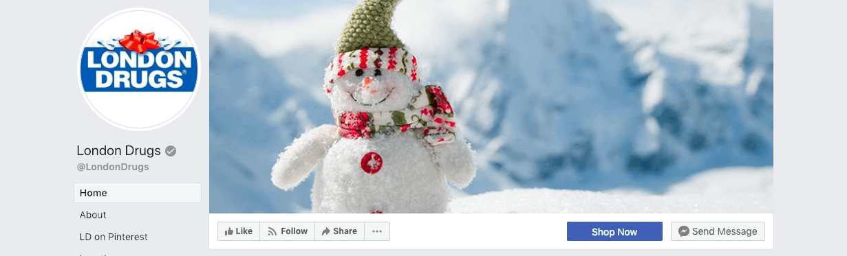 best social media campaigns london drugs christmas cover