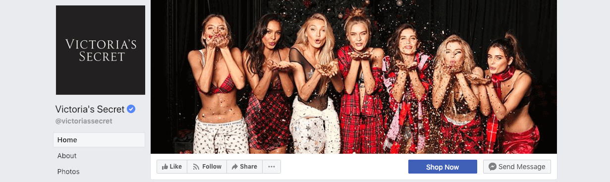 best social media campaigns victoria secrets christmas cover