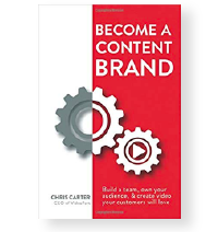 Become a Content Brand by Chris Carter book cover