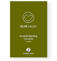 Olive Valley Growth Hacking Formula book cover