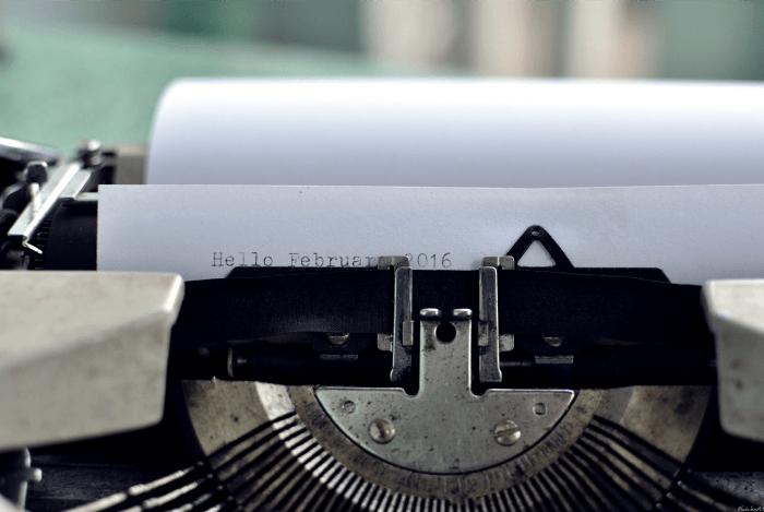 repurpose content typewriter