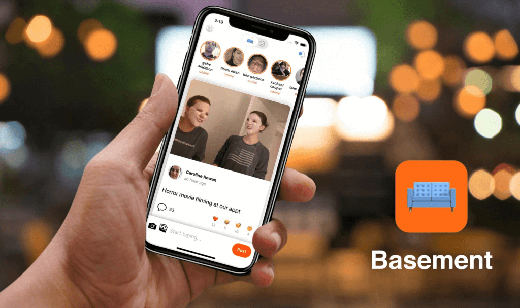 Basement Is a New Micro Social Platform for You & Your Friends