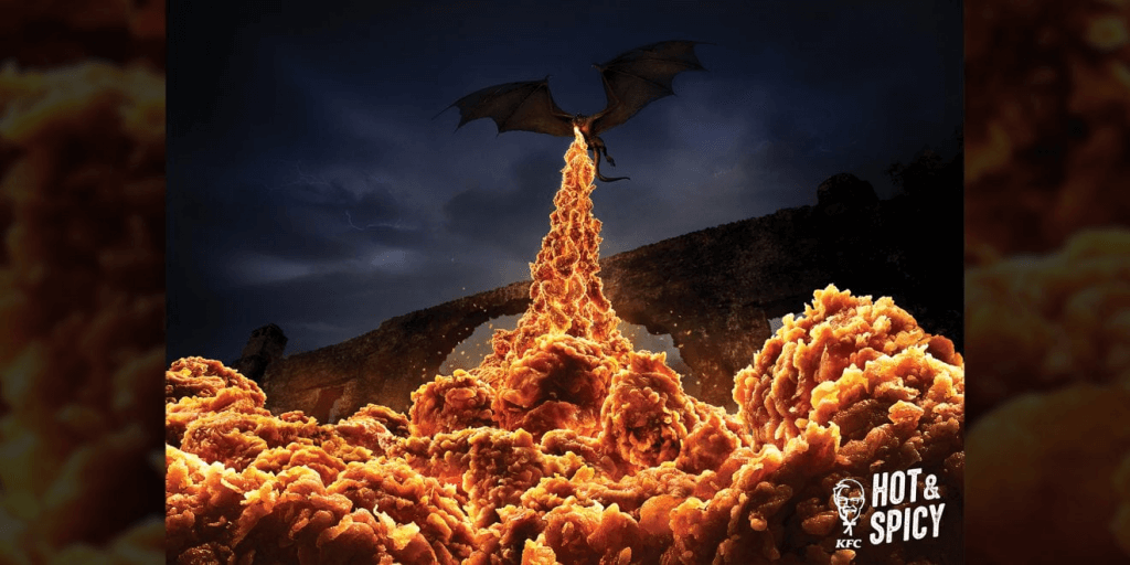 KFC's Award-Winning Ads, Returns for Game of Thrones (via Adweek)