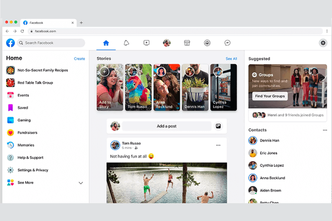 Facebook F8 - New design, privacy, and other stuff
