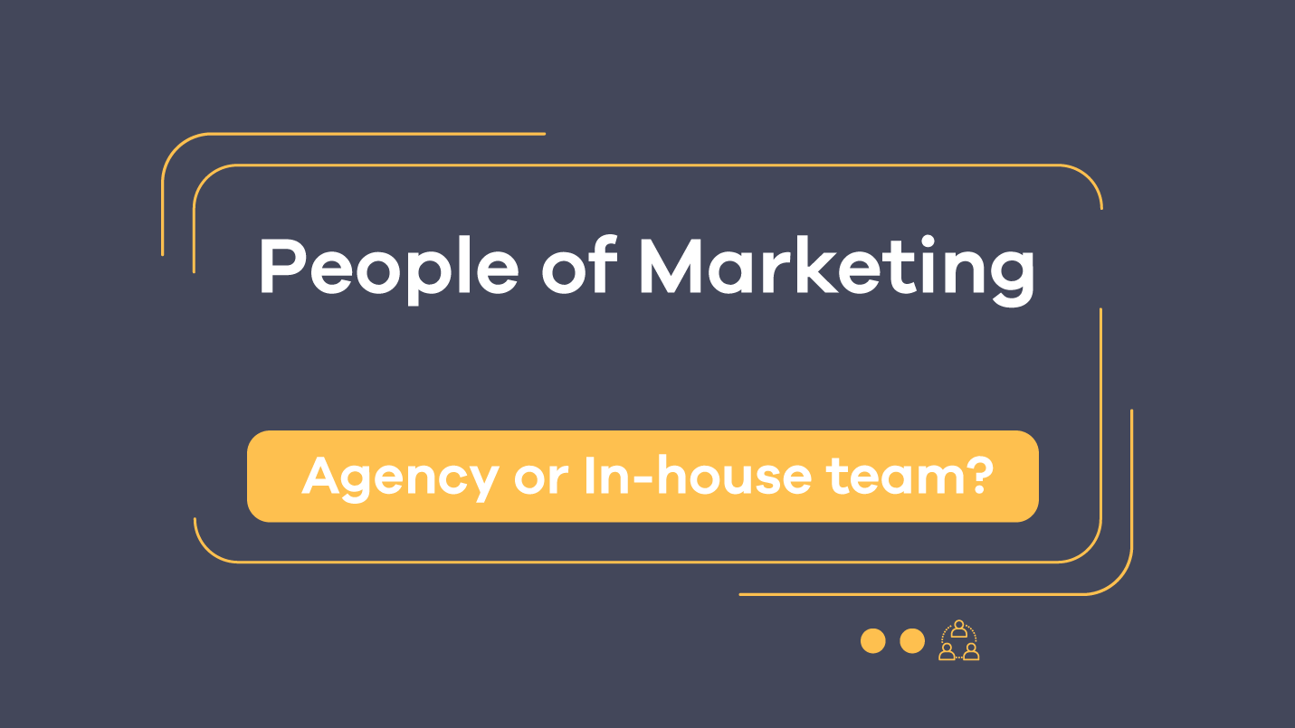 agency or inhouse team people of marketing episode