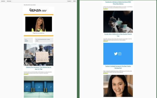 wersm newsletter marketing collateral email marketing