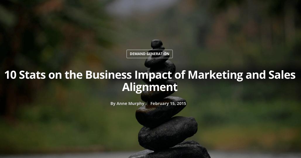 sales alignment
