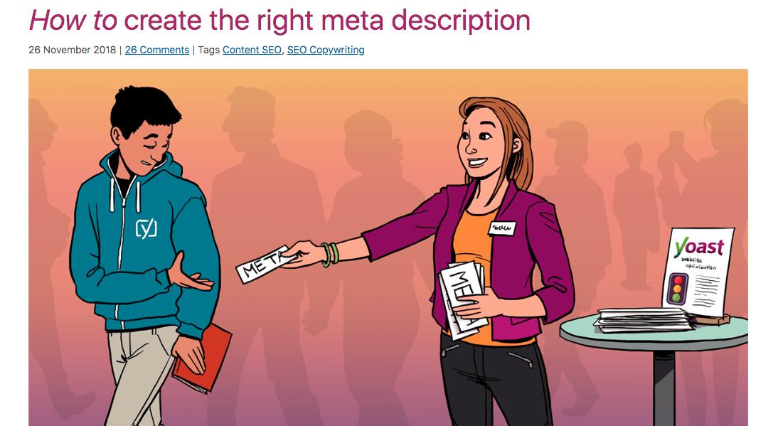how to create the right meta description