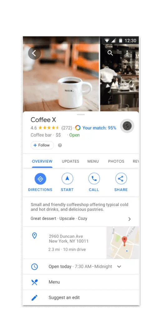 Google My Business introduces many new features for company profiles welcome offers
