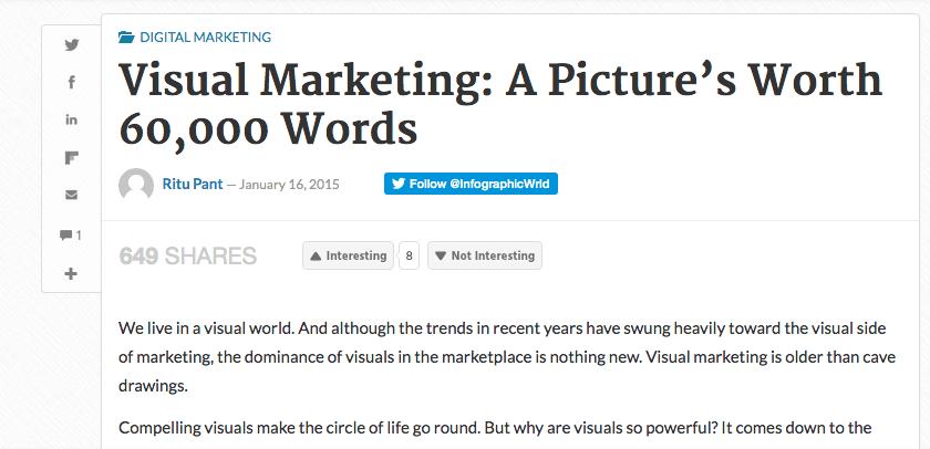 visual marketing