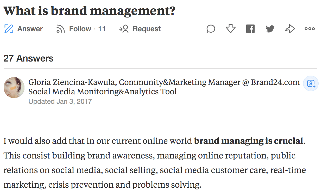 brand management definition quora gloria brand24 comment