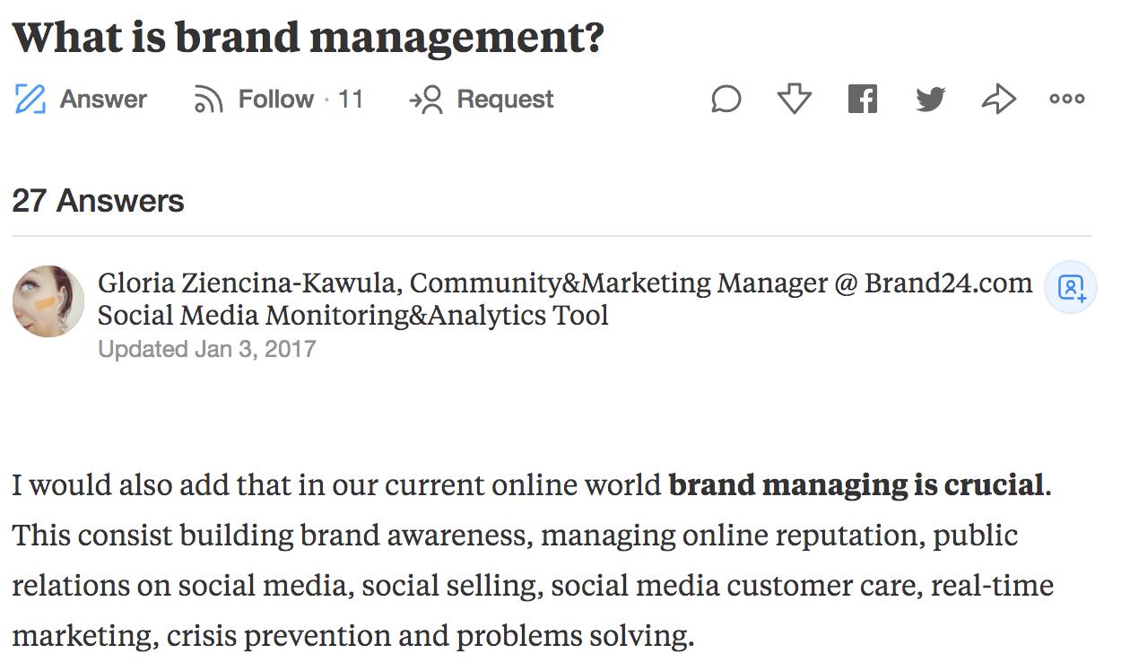 brand management definition quora gloria brand24 comment