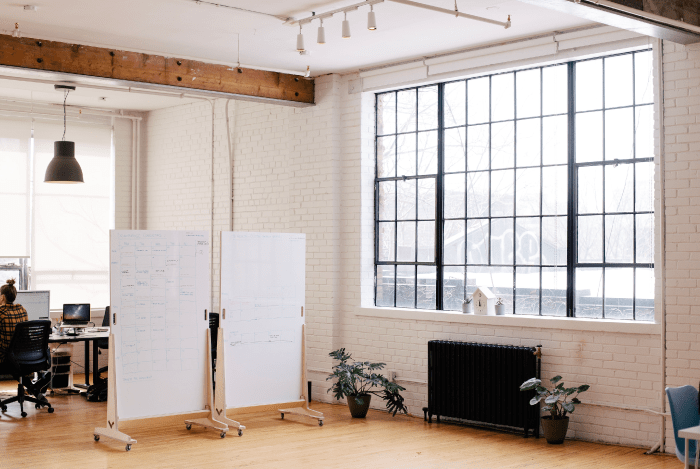 a big white room planning marketing concept using marketing management