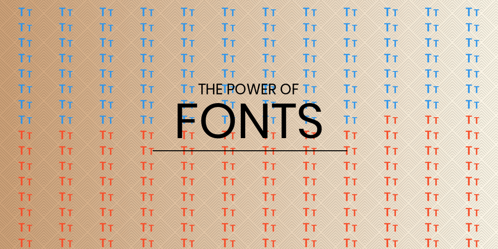 brand guide - the power of fonts