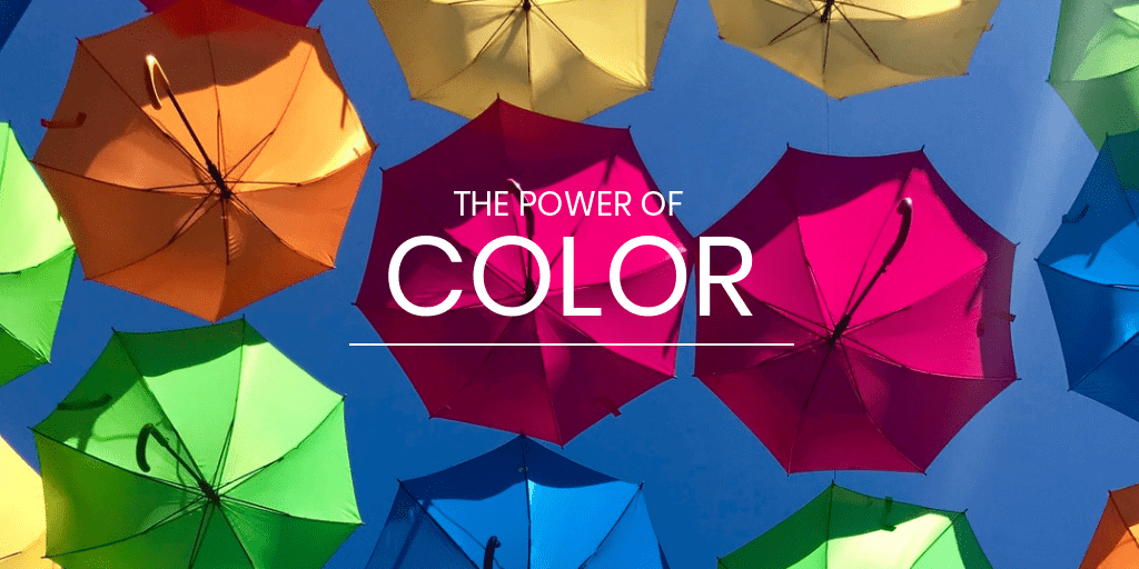 the power of colors umbrelas