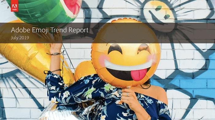 Adobe Emoji Trend report