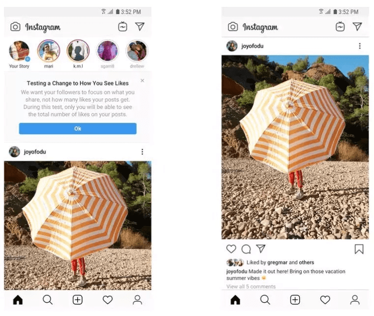 Instagram's hiding likes in 6 more countries
