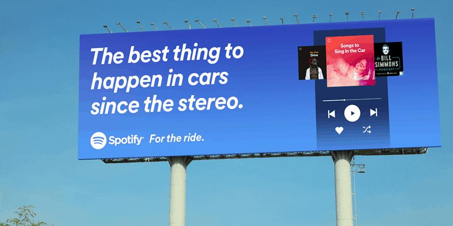 spotify car ad