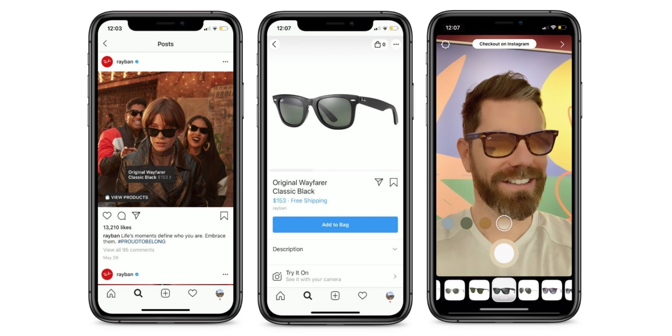 Instagram Adds New Spark AR-Powered Experience october social media news