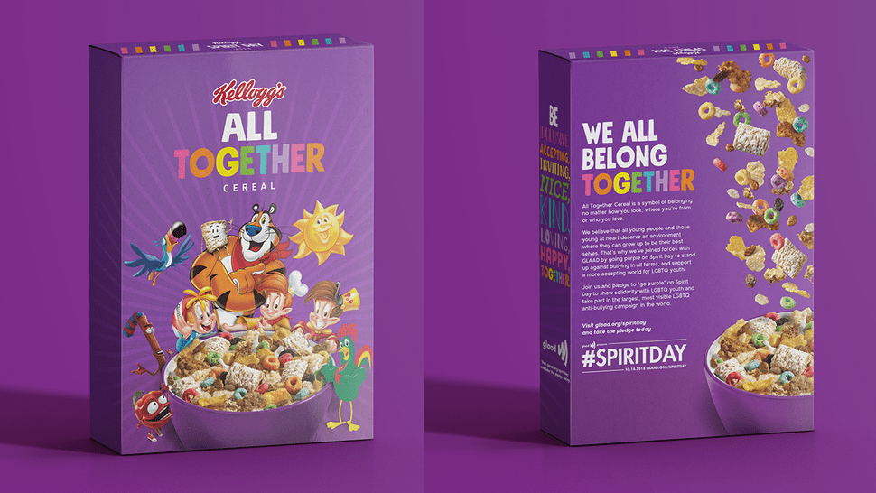 New special edition of Kellogg's 'All together cereal' october marketing news