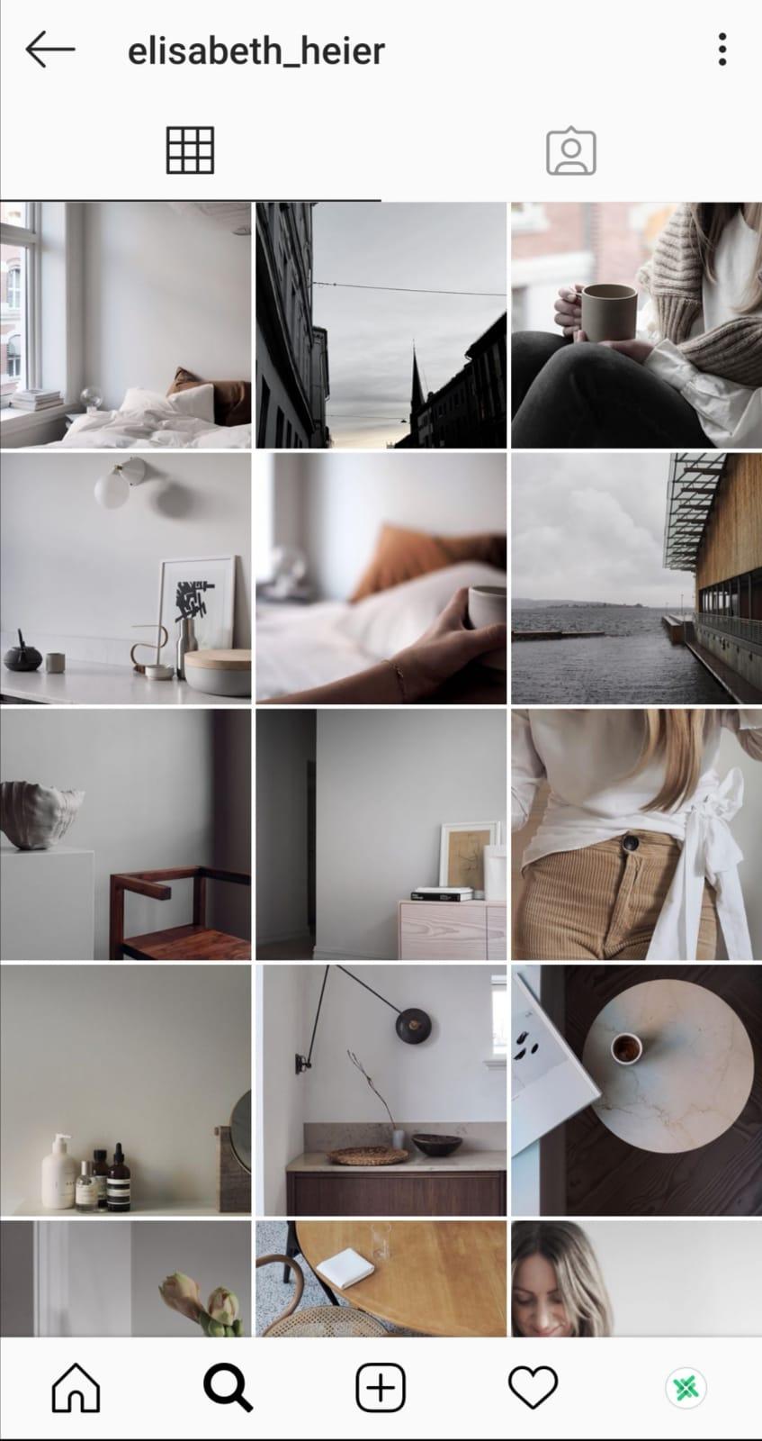 instagram grid lines