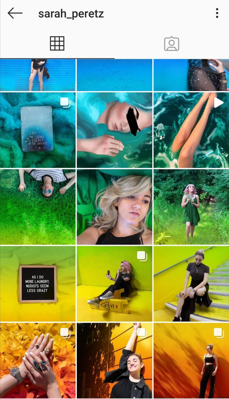 instagram grid preview